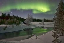 Northern lights,revontulet / #aurora #northern lights #inari #kaamanen
