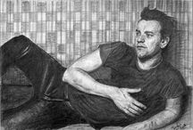 Black & White Drawings / Black & White Drawings by Karolina Gassner (karogfineart)