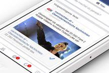 Social Media / Die neue Welt der Kommunikation. Vielseitig. Knackig. Direkt. Facebook, Twitter & Co - Alles aus einer Hand. Alles von der hanner inc. Werbeagentur.