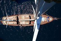 Sailing the Mediterranean sea / Sailing the Mediterranean sea.