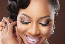 Black Bride Makeup / Maquiagem noivas negras