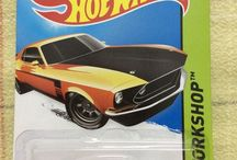 Mustang diecasts