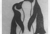 Tatuaje de pingüinos