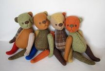 Teddy bears мишки  и К.