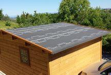 Impianto Fotovoltaico Fornacette / realizzazione di ricovero per attrezzature agricole con tetto costituito da pannelli fotovoltaici