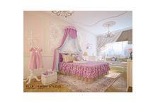 Дизайн детской / Варианты дизайна интерьеров детских комнат от студии Elle Interior