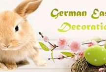 German Easter - Deutsche Ostern / Easter products & gifts from Germany, sweets & candy, decorations & traditions