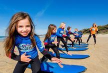 Surf Camp / Get your surf lessons from the best team of instructors. Join the Surf and Sun surf lessons South Australia and learn how to surf from awarding winning instructors. This surf school is also the recipient of 5 South Australian Tourism Awards. Enroll now!