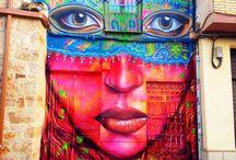 ART ∞ MURALS • HOUSES / Murals over houses – Outdoor Art around the world!