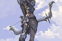 Personagens Archer