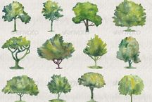 Art ideas - trees