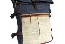 Earthy and Organic.. Wild Himalayan Hemp Backpacks