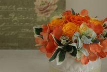 【イエロー・オレンジ】プリザーブドフラワー / Flower noteのプリザーブドアレンジ。 イエロー・オレンジのギャラリーです。