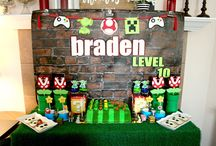 Video Game Arcade Birthday Party