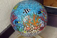 Mandalas, round mosaics..