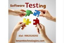Software Testing / Want to learn Software Testing Training in Chennai, reach us Besant Technologies. Besant provides best Software Testing Training from real-time experts with placement assurance.  Further details contact 9962528294 or visit our site.