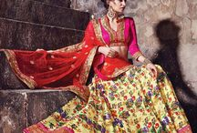 Lehengas for Drezzling Women / Lehenga choli, an amazing and the favoured attire of every Indian woman, is now getting designed in an entire new way by Drezzling. Wear these lehenga cholis and celebrate the spirit of Womanhood and the essence of beauty.