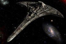sci-fi ships / by Drew .