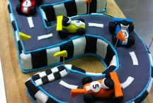 cakes with cars