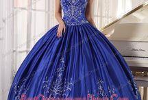 BLUE ballgowns (wedding)