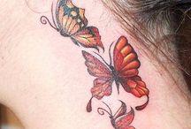 Tattoos: Butterflies / by Amy Metzler