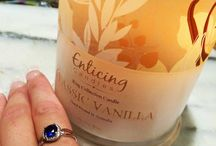Customer Ring Reveals / Exciting ring reveal photo's experienced by Enticing Candles customers.