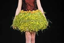 Flower Dresses from Alaric Flower Design at NYFW