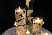 Hiasan lilin gelas