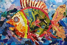 Collage Animal Art