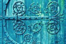 Blue / Art, IB work