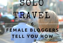 Solo Travel Tips / Enjoy destinations, cultures and experiences on your own terms by solo traveling, awesome for self-discovery and contemplation. Solo travel can also be daunting, and some tips and strategies are always helpful!