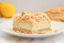 Recipes - especially lemon