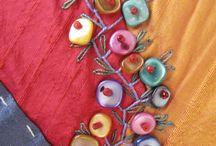 Embroidery / výšivky a aplikácie textilu