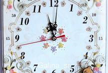 clock / óra / quilling