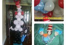 Custom Balloon Decor by NOLA Party Boutique / Custom Balloon Decor/Pieces