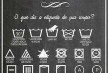 etiquetas roupas Lavanderia