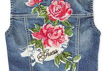 Moda (Colete Jeans)