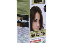 Natural Hair Colour / Indus Valley Natural gel hair colour is extra safe, perfect grey covering hair colour. It consist 100% natural herbs like amla, tulsi, aloe vera, sunflower, orange, and honey.