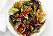 Clams/Mussels Recipes / With many varieties, here you will find recipes from pasta dishes to stuffed clams!