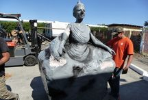 Sculptures and Statues / Large Foam sculptures and statues for events