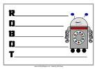 School Theme - Robot