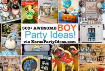 party/birthday ideas / by Leslie Johnson