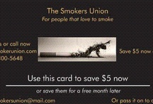 The Smokers Union / For people that love to smoke, but don't want to die. change what your doing and give up nothing  / by thesmokersunion the smokers union inc