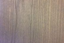 ♥ Smokey Wood Flooring ♥ / New translucent smokey grey stained American White Ash flooring.