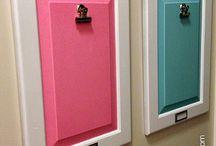 repurpsed cabinet doors