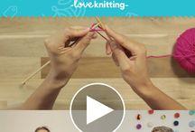 Teaching knitting