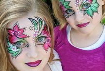 Makeup-- Fancy dress -- and Painting Childrens Faces /  Make up and Paint to Children's faces--  Enchanting the World of children by Love and Attention --This Creating Self-worth--  Entertainment  Love and Trust towards other Humans as well