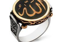 Allah Yazılı Yüzükleri - morduck.com