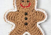 Crocheted appliqués