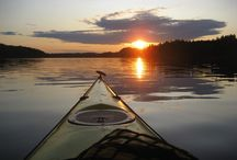 Paddling on Lake Saimaa - Meloen Saimaalla